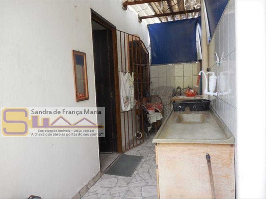 Casa Geminada 01 Dormitório a Venda em Vila Tupi na Praia Grande